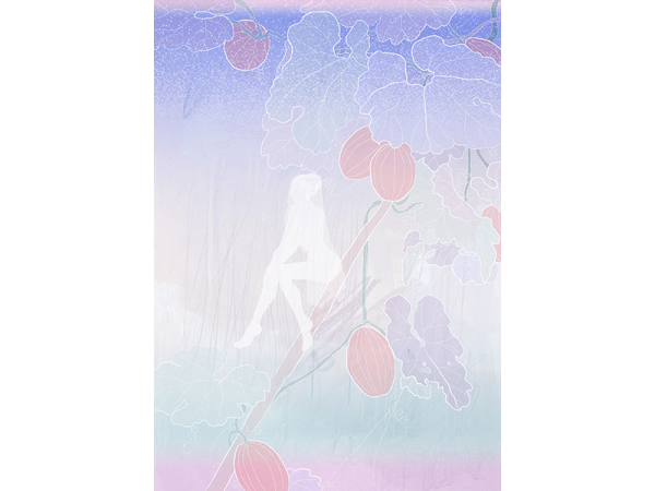 A digital painting illustrating the story of Song of Songs by Yung Yee Kwan